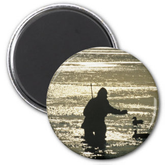 Setting Decoys 2 Inch Round Magnet