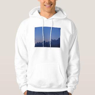 Setting Moon at Sunrise Hooded Sweatshirt