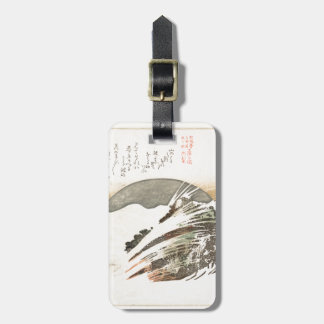 Setting Moon on Waves (19th Century) Travel Bag Tags