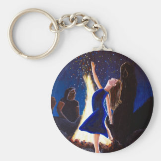 Setting on fire keychain