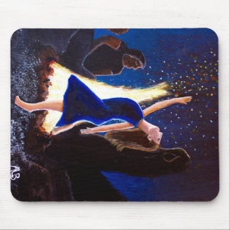 Setting on Fire Mouse Pad