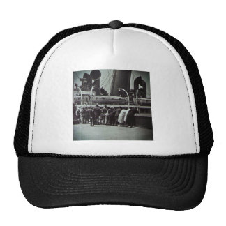 Setting Sail from New York City Vintage Trucker Hat