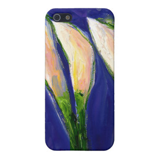 Setting Sail Lily Flower Art iPhone 4 Case