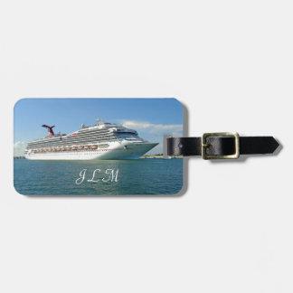 Setting Sail Monogrammed Luggage Tag