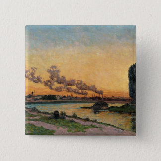 Setting Sun at Ivry, c.1872-73 Button