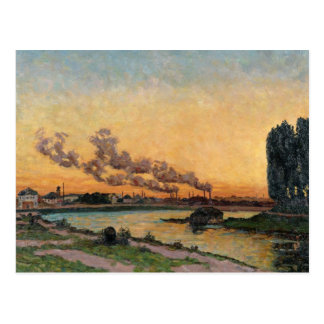 Setting Sun at Ivry, c.1872-73 Postcard
