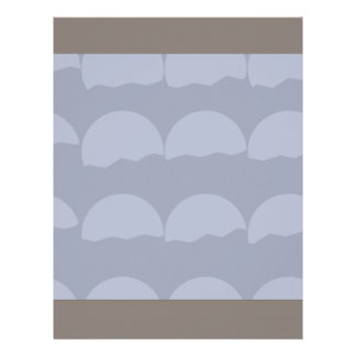 Setting Suns - Simple Transparent Abstract Pattern Letterhead