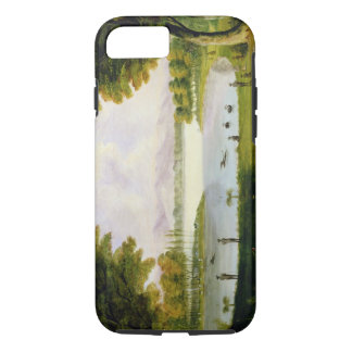 Setting up Camp of the Naval Survey Expedition, at iPhone 8/7 Case