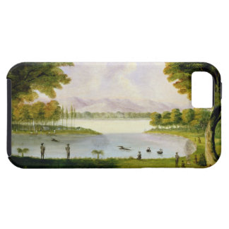 Setting up Camp of the Naval Survey Expedition, at iPhone SE/5/5s Case