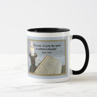 SETTLED IN HEAVEN  Mug