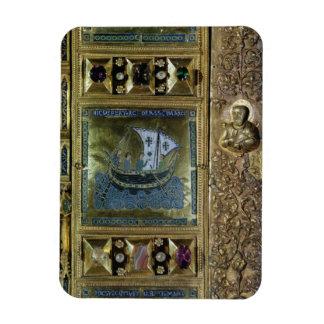 Settlement of the Body of St. Mark, enamel panel f Flexible Magnets