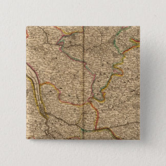 Settlements and forests in France Pinback Button