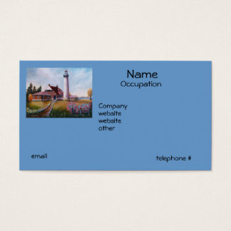 Seul Choix Lighthouse Business Cards