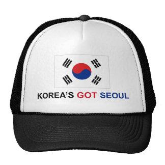 Seul conseguida de Corea Gorro De Camionero
