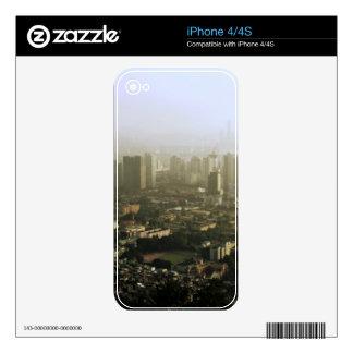 Seul desde arriba de la foto urbana skin para el iPhone 4S