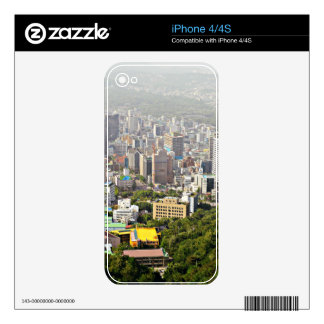Seul desde arriba iPhone 4S calcomanías