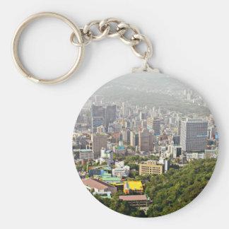 Seul desde arriba llavero personalizado