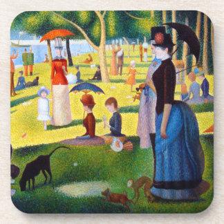 Seurat: A Sunday at La Grande Jatte Coaster