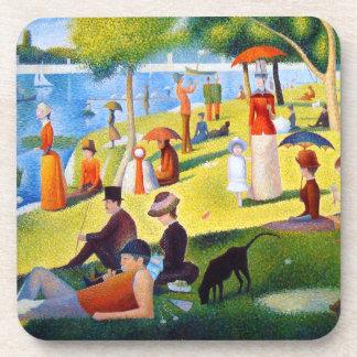 Seurat: A Sunday at La Grande Jatte Drink Coaster