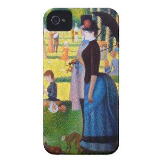 Seurat: A Sunday at La Grande Jatte iPhone 4 Case