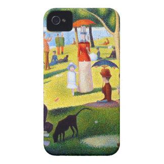 Seurat: A Sunday at La Grande Jatte iPhone 4 Case-Mate Case