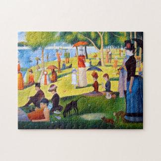 Seurat: A Sunday at La Grande Jatte Jigsaw Puzzle