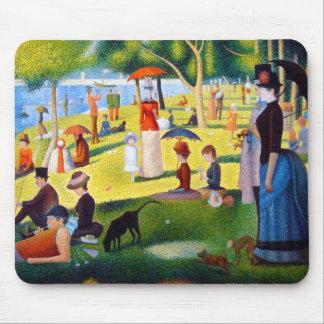 Seurat: A Sunday at La Grande Jatte Mouse Pad