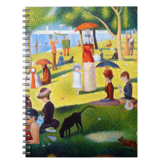 Seurat: A Sunday at La Grande Jatte Notebook