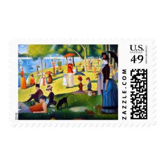 Seurat: A Sunday at La Grande Jatte Postage