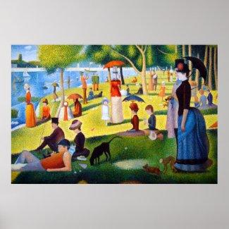 Seurat: A Sunday at La Grande Jatte