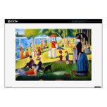 """Seurat: A Sunday at La Grande Jatte Decal For 15"""" Laptop"""