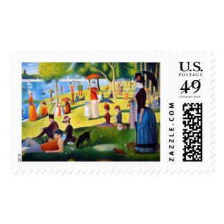 Seurat: A Sunday at La Grande Jatte Stamp