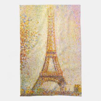 Seurat Eiffel Tower Kitchen Towel