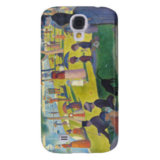 Seurat La Grande Jatte Galaxy S4 Cases