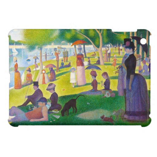 Seurat La Grande Jatte iPad Mini Case