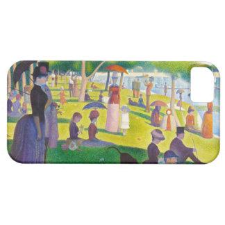 Seurat La Grande Jatte iPhone Case iPhone 5 Cases