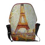 Seurat: La torre Eiffel Bolsa De Mensajeria