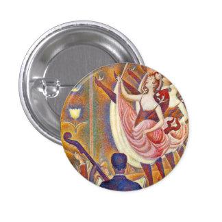 Seurat Le Chahut Button Pins
