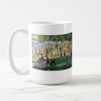 Seurat nuclear taza de café
