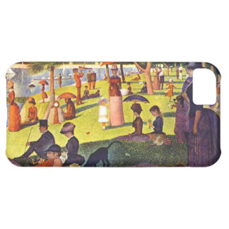Seurat Painting Sunday Afternoon Case For iPhone 5C
