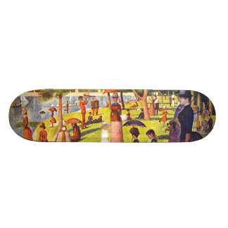 Seurat Painting Sunday Afternoon Skateboard Deck