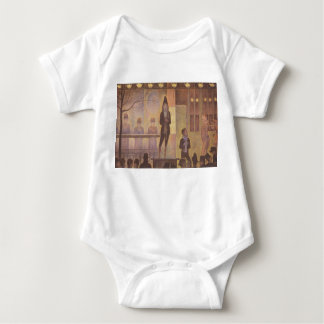 Seurat Painting - The Circus Parade Infant Creeper