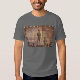 Seurat Painting - The Circus Parade Shirt