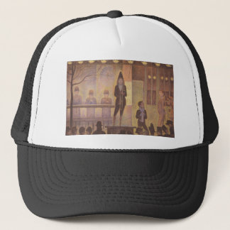 Seurat Painting - The Circus Parade Trucker Hat