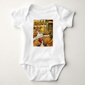 seurat Painting - The Circus Tee Shirts