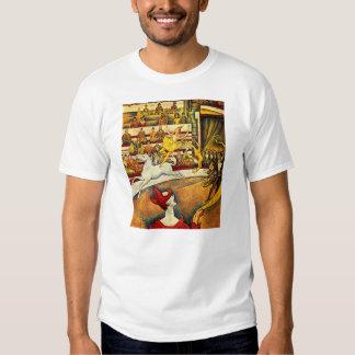 seurat Painting - The Circus Tshirt