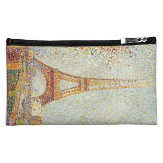 Seurat Painting The Effiel Tower Cosmetic Bag