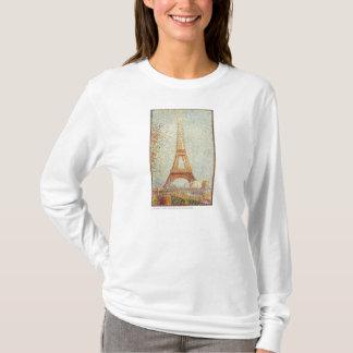 Seurat Painting The Effiel Tower T-Shirt