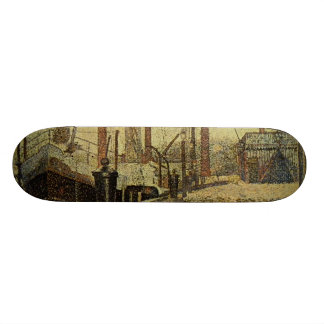 Seurat Painting The Maria Skateboard Deck