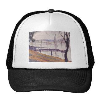 Seurat Painting Trucker Hat